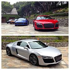 Audi R8 Front - 2014 audi r8 range split screen front and front three quarters