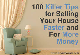 how to sell your house 100 tips to sell faster and for more money