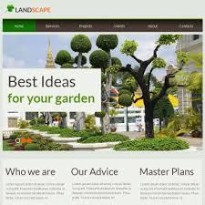 Landscaping Advertising Ideas Landscape Design Facebook Html Cms Template 45636