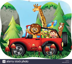 cartoon jeep side view jeep stock vector images alamy