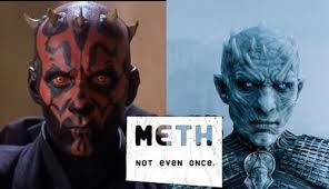Not Even Once Meme - meth not even once darth maul memes and comics