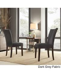 Dark Grey Dining Chairs Avingdon Shield Back Light Distressed - Grey fabric dining room chairs
