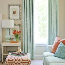 coral patterned curtains reference for eclectic nursery with