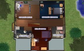 sims floor plans modernullen family house floor plan sims twilight hoke plans