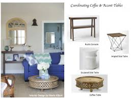 martini table how to coordinate coffee u0026 accent tables like a designer maria