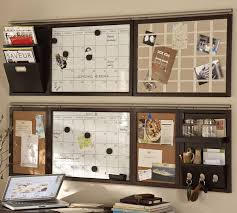 Office Wall Organizer Ideas Build Your Own Daily System Components Espresso Stain