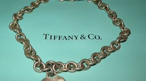 sterling silver charm link bracelet images Tiffany co sterling silver link chain choker collar necklace w jpg