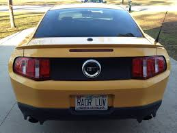 badass mustang personalized license plates being used for your new 5 0 gt gt cs