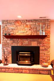 Living Room Decor Natural Colors Ideas Stone Fireplace With Beautiful Mantel Decorating Ideas