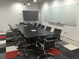 Black Meeting Table All Black Architectural Conference Table Ambience Doré