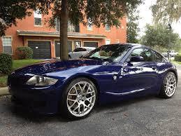 fs 2006 bmw z4m coupe interlagos blue 73k miles vmrs priced