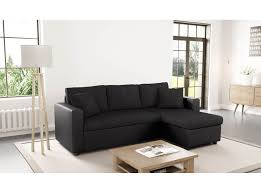 canap d angle r versible et convertible canap noir d angle cheap canape dangle relax cuir