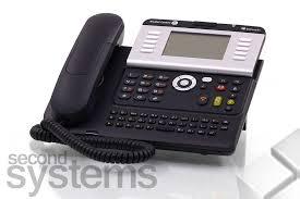 alcatel 4038 ip touch phone system telephone poe grey ebay