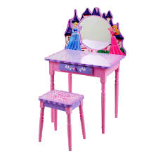 Disney Princess Keyboard Vanity Table Magnificent Disney Princess Belles Be Our Guest Dining Set