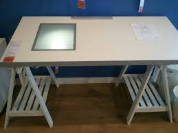 Drafting Table Tools Ikea White Drafting Table With Light Box And Adjustable Trestle