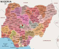 map of nigeria africa political map of nigeria naija