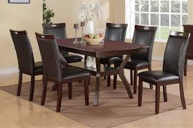 poundex furniture f2290 f1308 7 pc dining table set