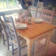 shabby chic farmhouse table shabby chic farmhouse dining table masters mind com