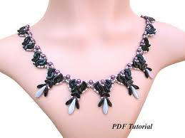 diy necklace bead images Arcos beads necklace pattern beaded tutorial diy necklace jpg
