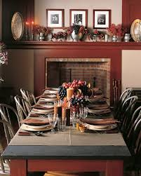 Martha Stewart Dining Room Furniture 60 Stylish Table Settings For Thanksgiving Tablescape Ideas And