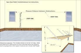 garage measurements how to measure for your open open diy garage shelf kit