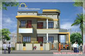 Kerala Home Design Floor Plan And Elevation by Duplex House Elevation Kerala Home Design Floor Plans House
