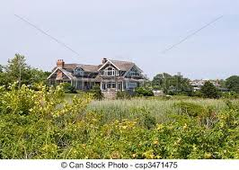 large luxury homes large luxury homes in a coastal country setting stock images