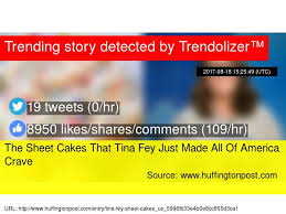 the sheet cakes that tina fey just made all of america crave