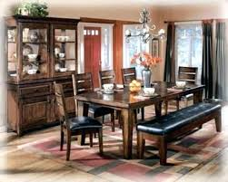 ashley dining table with bench ashley furniture bench furniture dining room impressive design