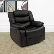La Z Boy Recliner Sofas by Furniture Three Seat Lazy Boy Sofa With Black Leather Cover For
