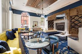 hotel and mount vernon photo gallery hotel indigo baltimore downtown hotel interior is modern yet traditional royal blue and yellow accents filled the room of