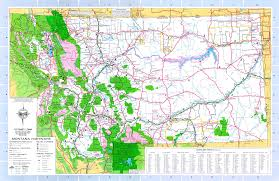 Usa Highway Map Montana Maps Including Outline And Topographical Maps Worldatlas Com