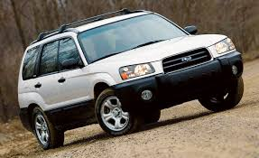 subaru ute 2003 subaru forester 2 5x road test reviews car and driver