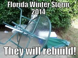 Florida Winter Meme - florida winter storm quickmeme