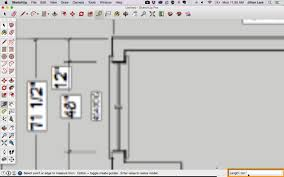 Sketchup by Draw A Floor Plan In Sketchup From A Pdf Tutorial