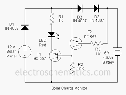 wiring diagram 5v solar battery charger circuit diagram battery