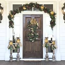 Christmas Decorating Ideas Ways To by Front Doors 7 Ways To Decorate Your Entry For The Holidays