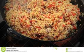 cuisiner definition pilaf plov afghan uzbek tajik national cuisine dish stock