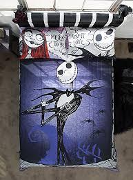 Jack Skellington Comforter Set The Nightmare Before Christmas Shirts U0026 Merch Topic