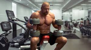 bill goldberg muscular development workout triple h 2018 49 years old workout youtube