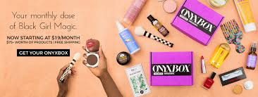 onyxbox best black beauty box best of hair makeup every month
