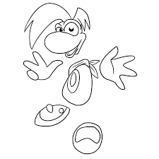 Rayman Legends Coloring Pages337920