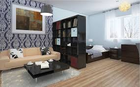 400 Square Foot Apartment by Studio Apartment Design Ideas 400 Square Feet Brown Sofas Black