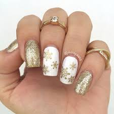 20 cute simple u0026 easy winter nail art designs u0026 ideas 2015 2016