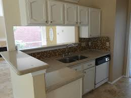 Kitchen Sink With Backsplash Furniture Small Kitchen Design With Corian Countertops An