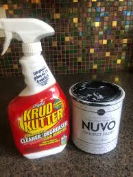 can you spray nuvo cabinet paint april on yup nuvo cabinet paint not sure what