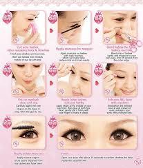 tutorial make up mata sipit ala korea cara membuat mata kecil terlihat besar korea dolly eyes