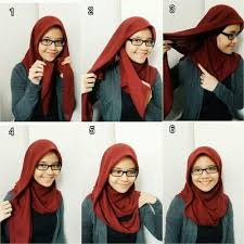 tutorial hijab persegi berkacamata 84 best hijab tutorial images on pinterest hijab tutorial head