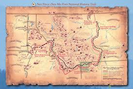 Oregon Trail Maps by Links Nez Perce Trail Foundation