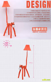 creative cartoon tiger vertical garden floor lamp bedroom bedside
